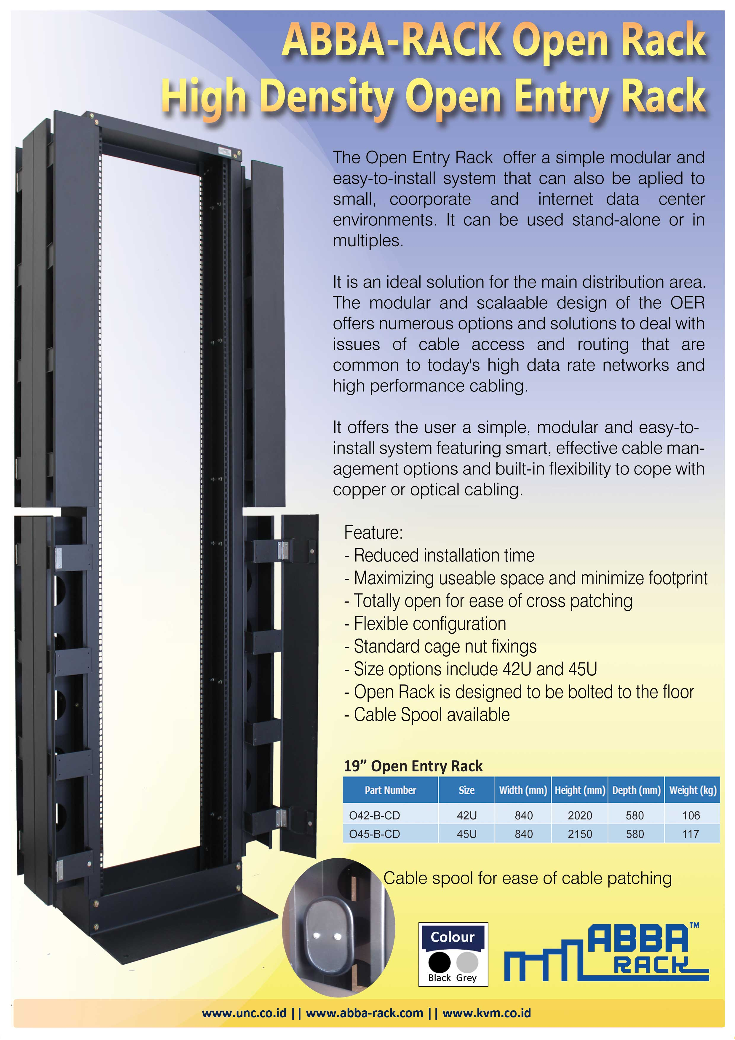 distributor rack server, harga open rack