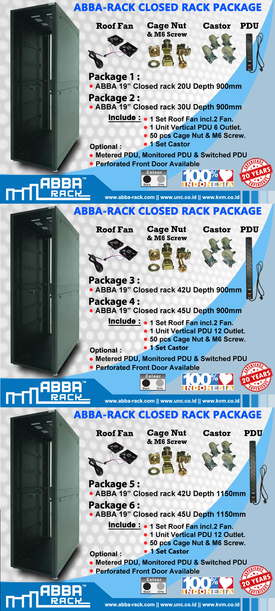 harga rack server
